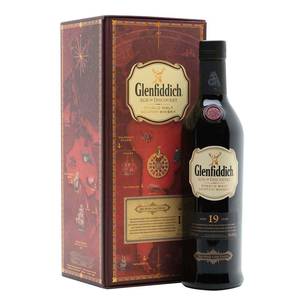 Glenfiddich Age Of Discovery Red Wine Cask Finish 19 Year